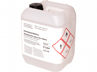 Hände-Desinfektionsmittel 5 Liter auf alkoholischer Basis
