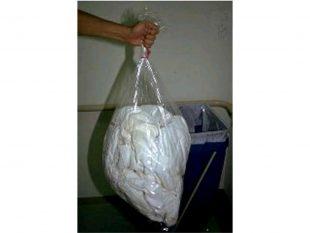 Wasserlösliche Wäschesäcke aus PVAL 660 x 840 mm, transparent