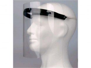 Visiermaske, 180 Grad - Schutz, beschlagarmer Gesichtschutz,21 x 29,7 cm