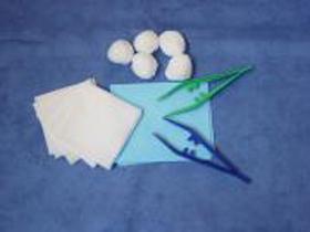 Verbandsset No. 22, steril, 3-teilige Blisterpackung, enthält: