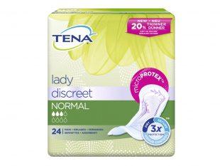 Tena Lady Discreet Normal, für leichte bis mittelstarke Blasenschwäche