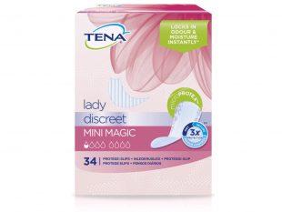 Tena Lady Discreet Mini Magic, für Frauen mit sehr leichter Blasenschwäche
