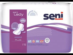 Einlagen Seni Lady Plus 42 x 20,5 cm Saugstärke 950 ml, mittlere Inkontinenz